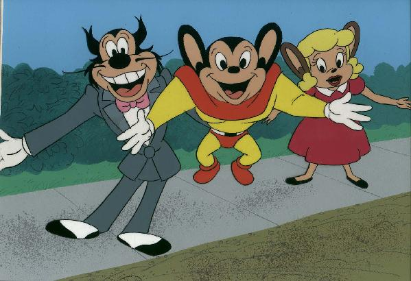 Oil Can Harry, Mighty Mouse, Pearl Pureheart